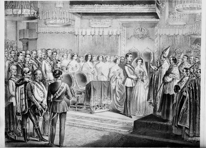 Cérémonie dans l'église des Augustins