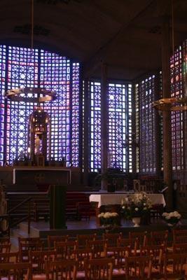 Sainte-Chapelle du béton armé
