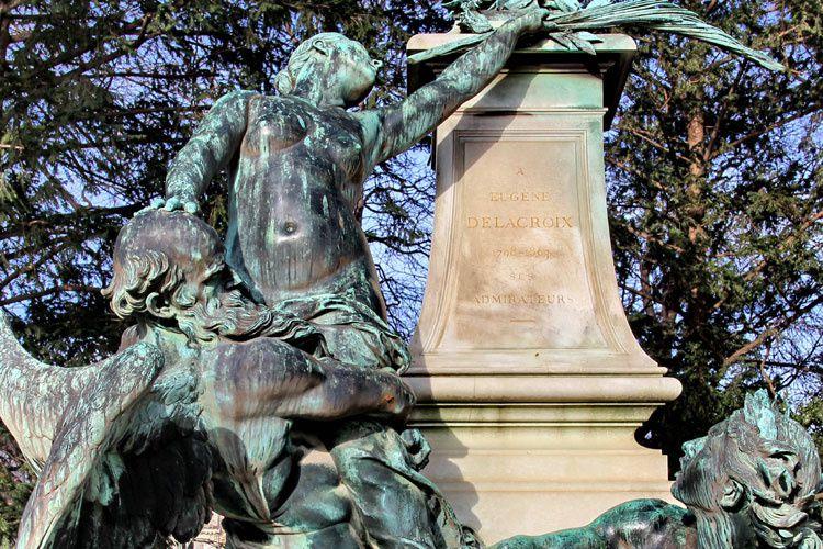 Monument à Delacroix