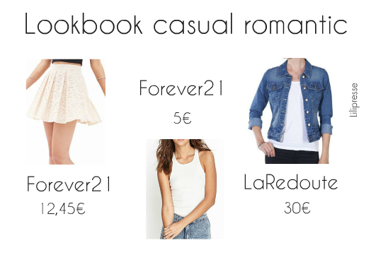 Lookbook: Look Casual Romantic