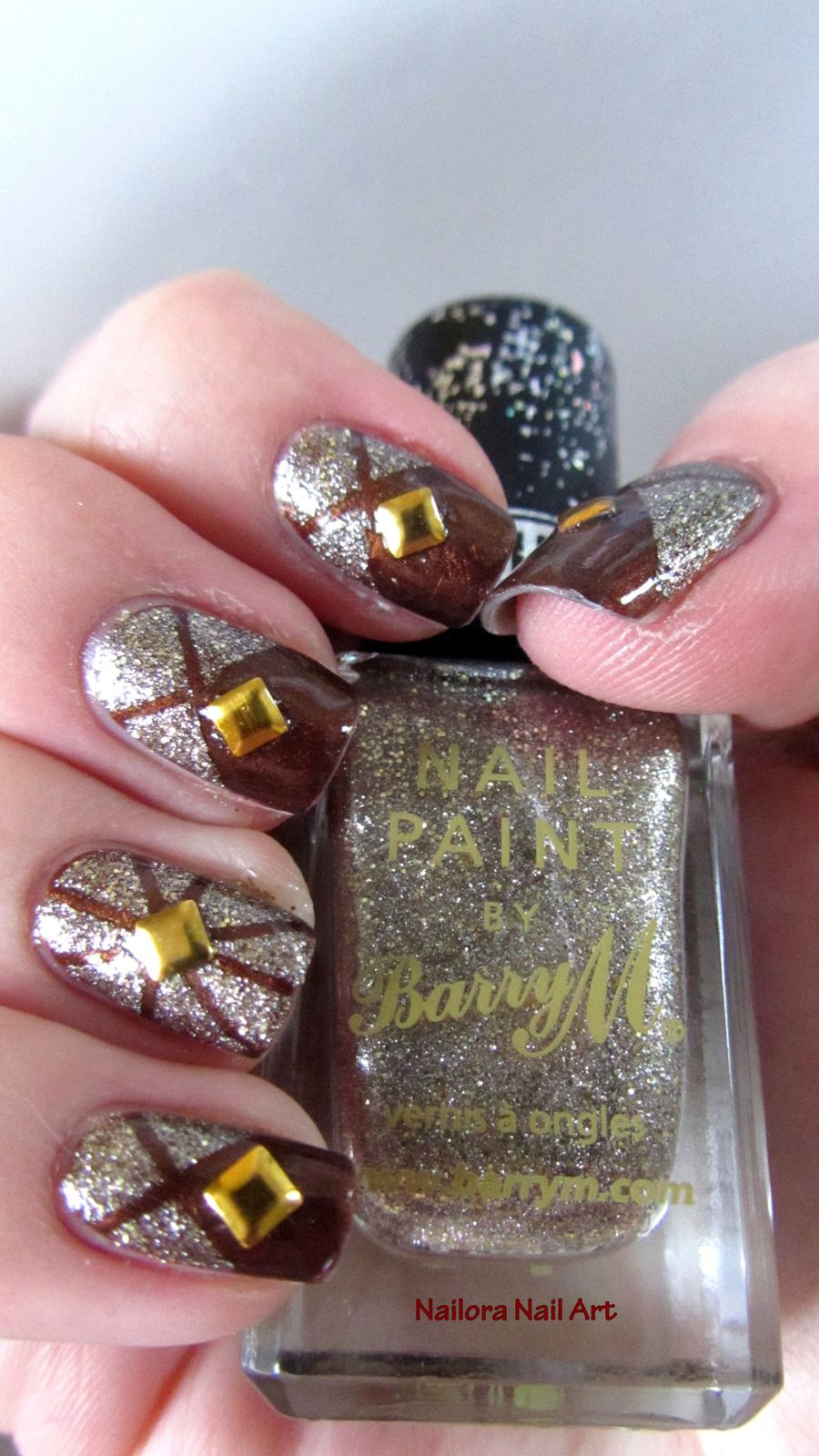 "Barry M ""Majesty"" et LM Cosmetic n°30"