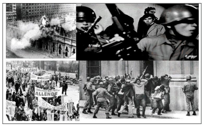 QUARANTE ANS  APRES  LE  COUP  D'ETAT    DU  11  SEPTEMBRE  1973  AU  CHILI