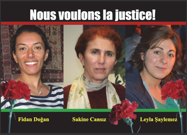 Dénonçons la complicité de l'Etat français dans la répression contre le peuple kurde !