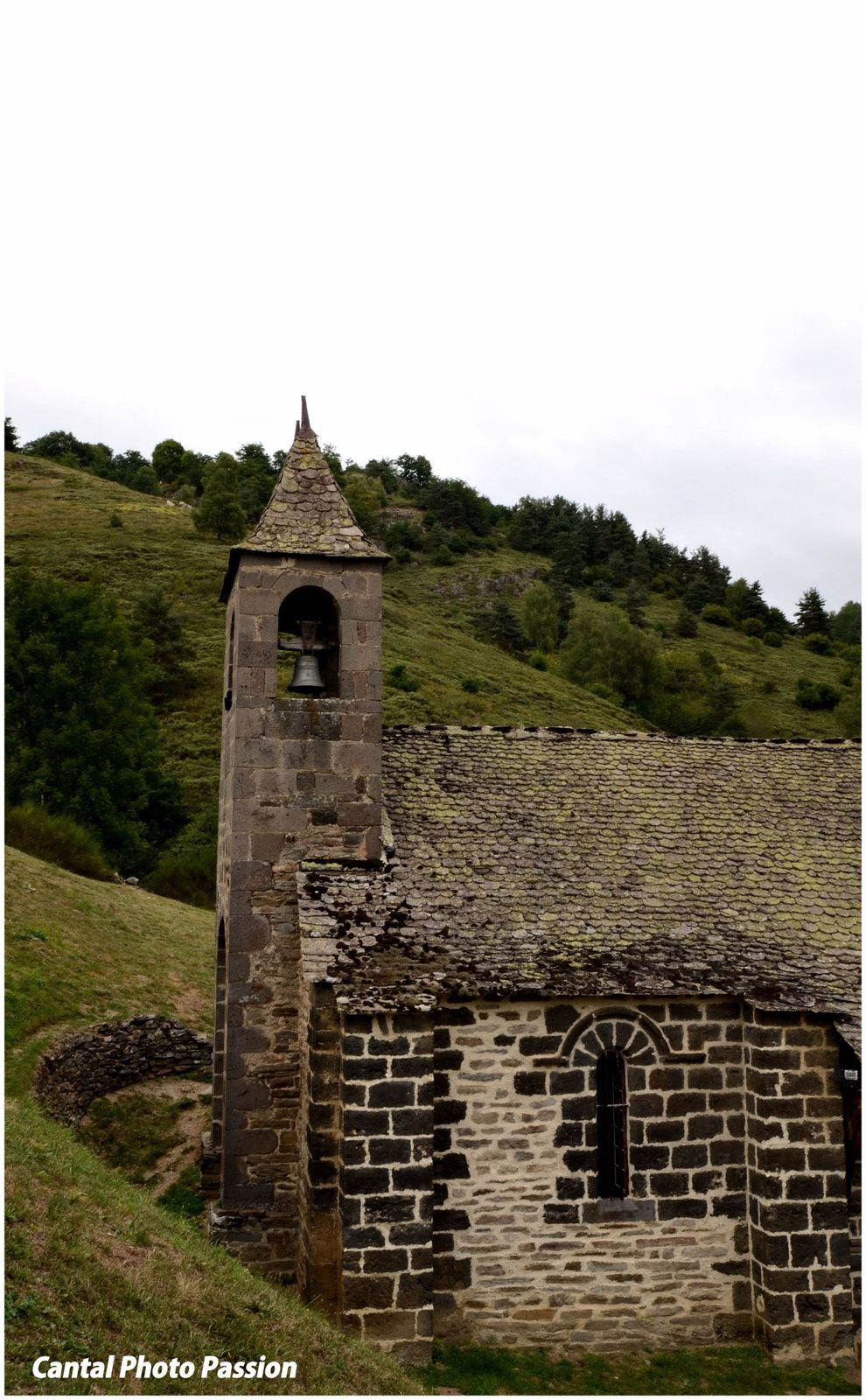 Site d'Alleuze, Cantal.