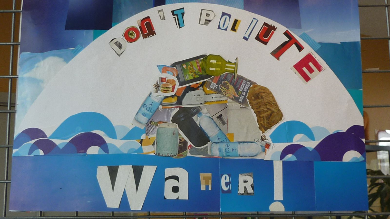 Don't pollute water !