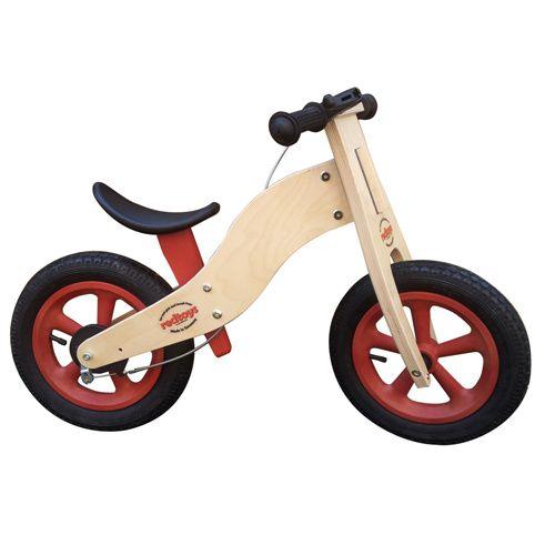 Redtoys, 120€, la seule en bois avec freins sur le marché!