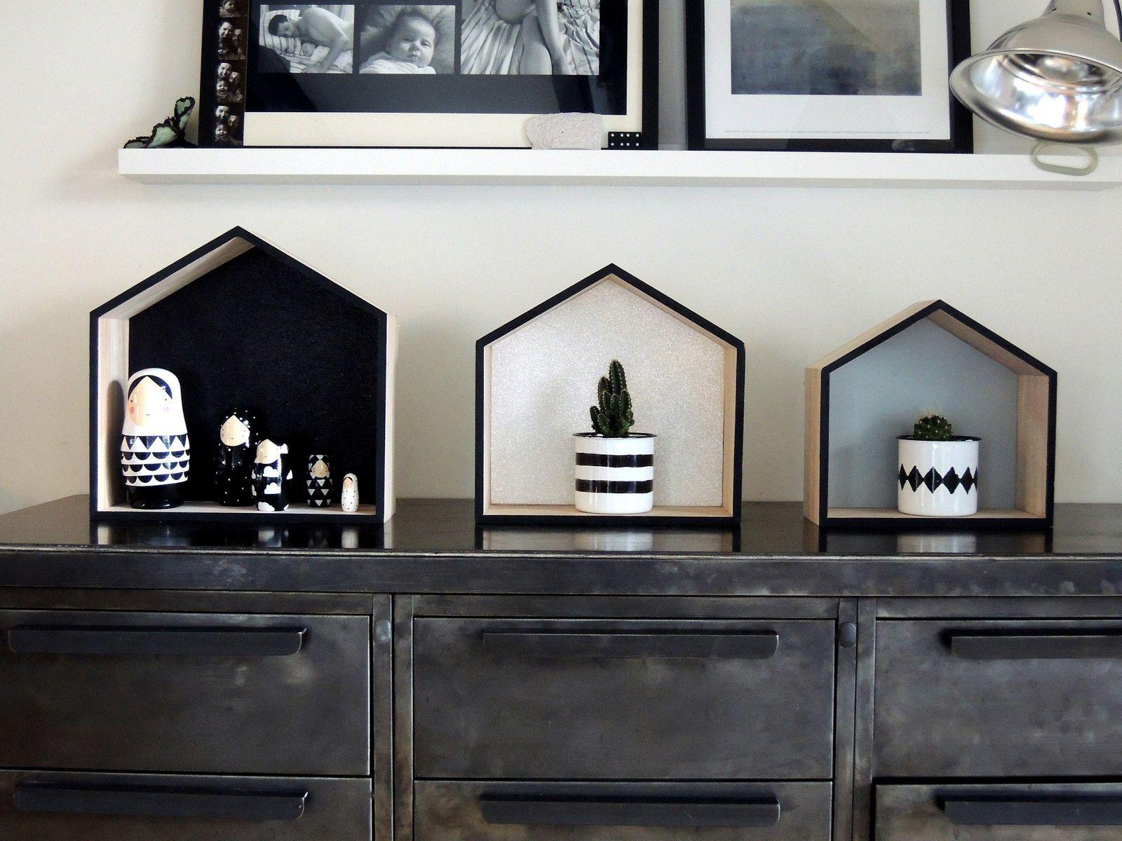 DIY: customisation d'étagères maison en bois brut