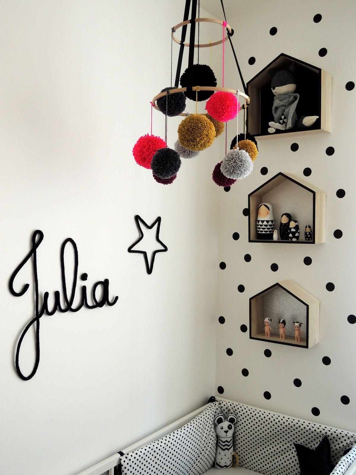 La chambre bébé de Julia