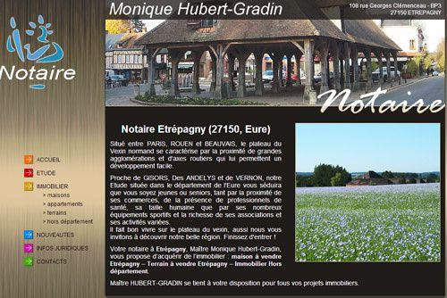 SCP Monique HUBERT GRADIN - Etrépagny (27150, Eure)