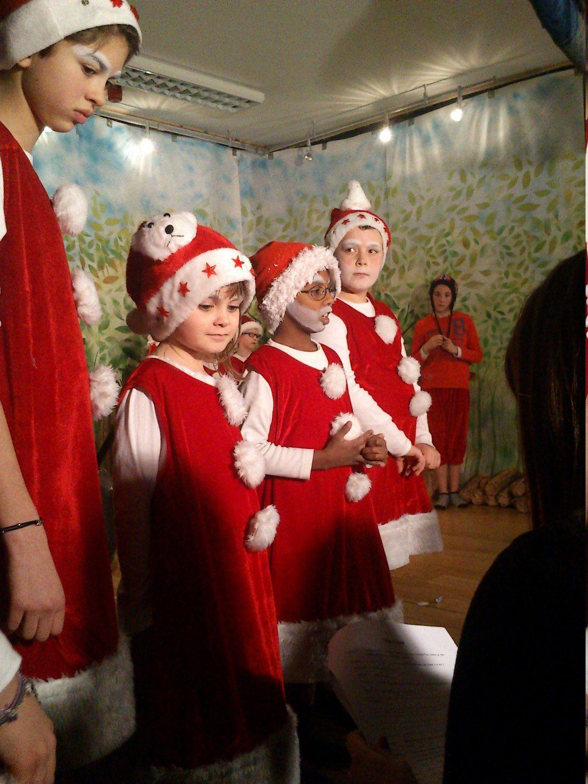 Le Pére Noël a aussi été petit