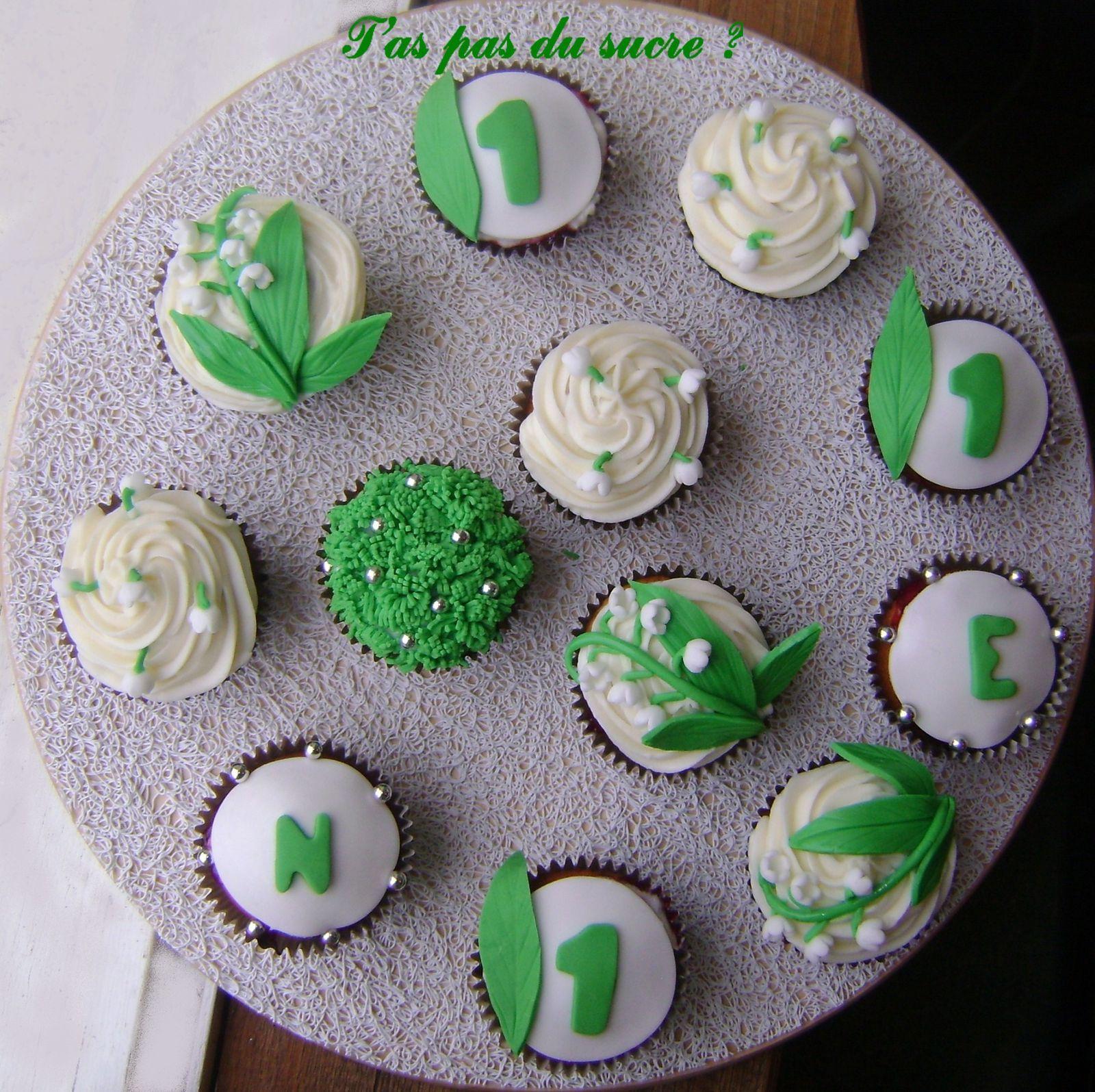 Cupcakes du 1er mai : album de décoration