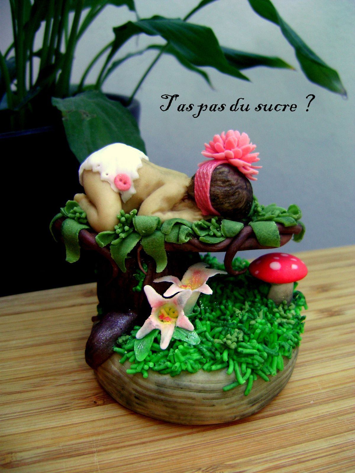 Figurine sucrée Bébé Nature !