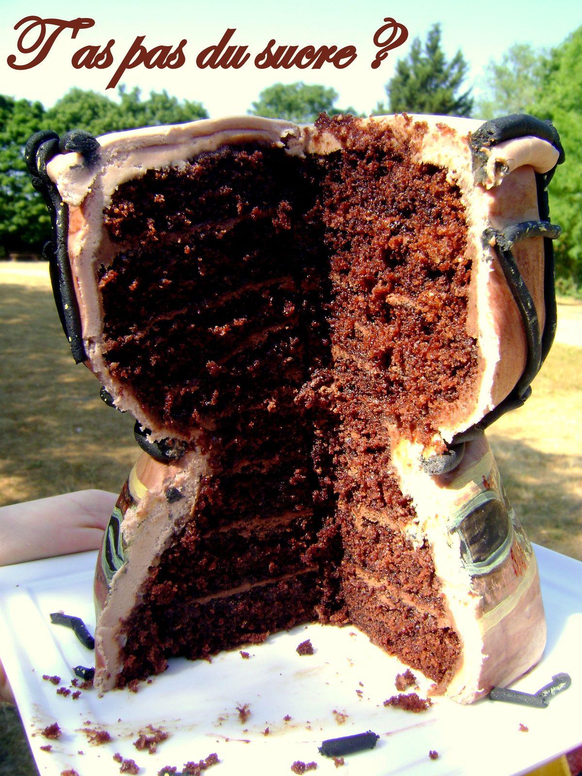 Gâteau Tam-tam (djembé)