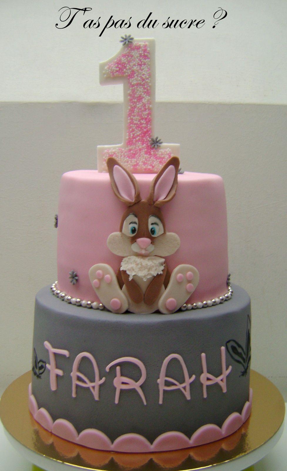 Gâteau Bunny fille