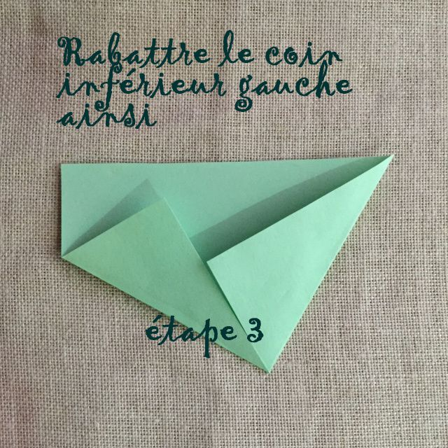 Etapes détaillées pour fabriquer une enveloppe origami