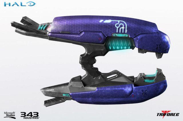 halo réplique fusil à plasma taille réelle !