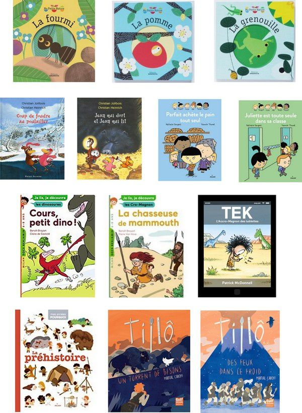 Acquisitions septembre 2016/Secteur Enfants
