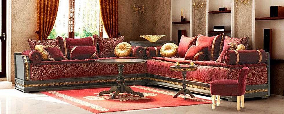 modèles salons marocains modernes - Artisanat marocain