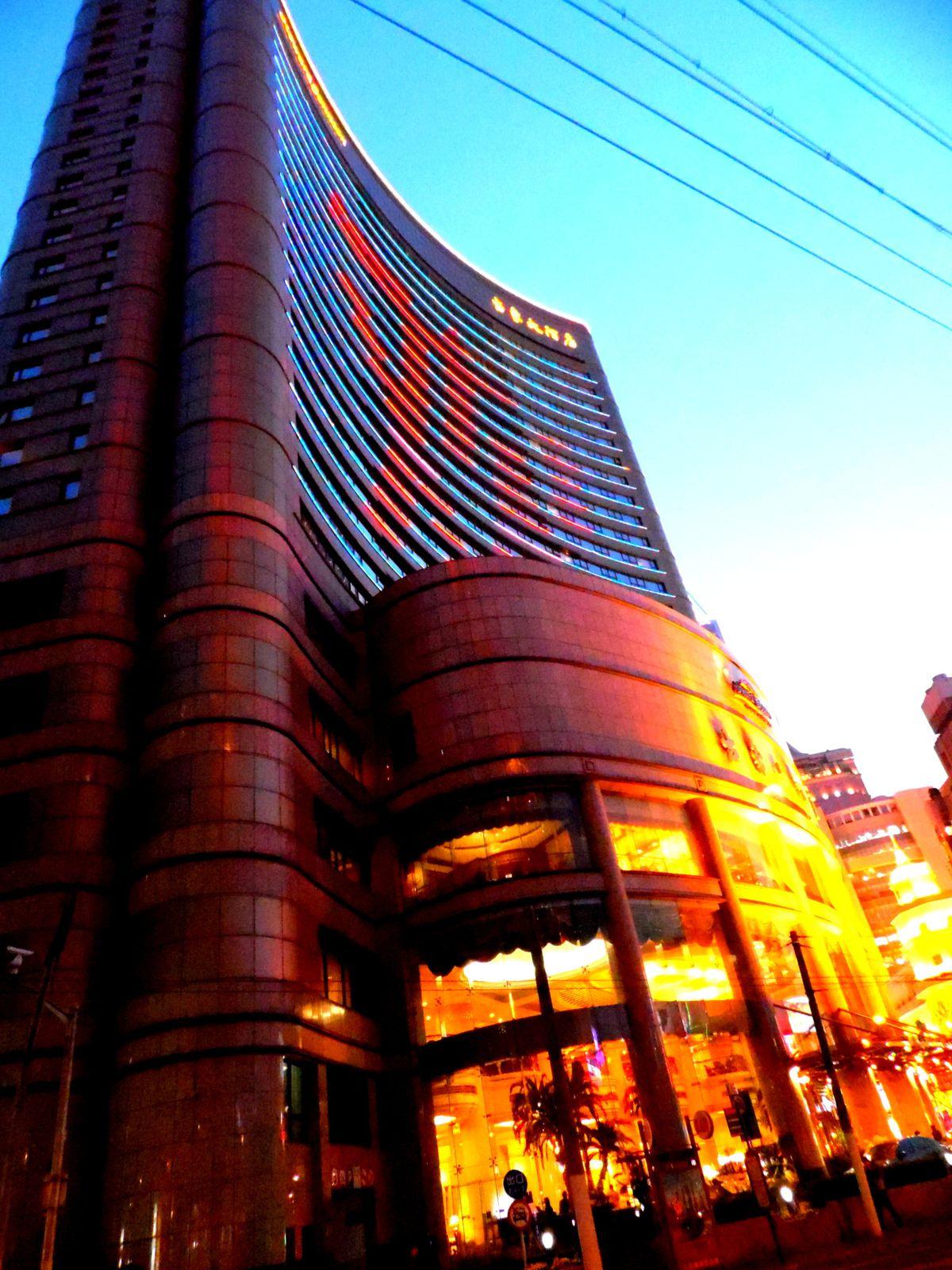 un hôtel en ville