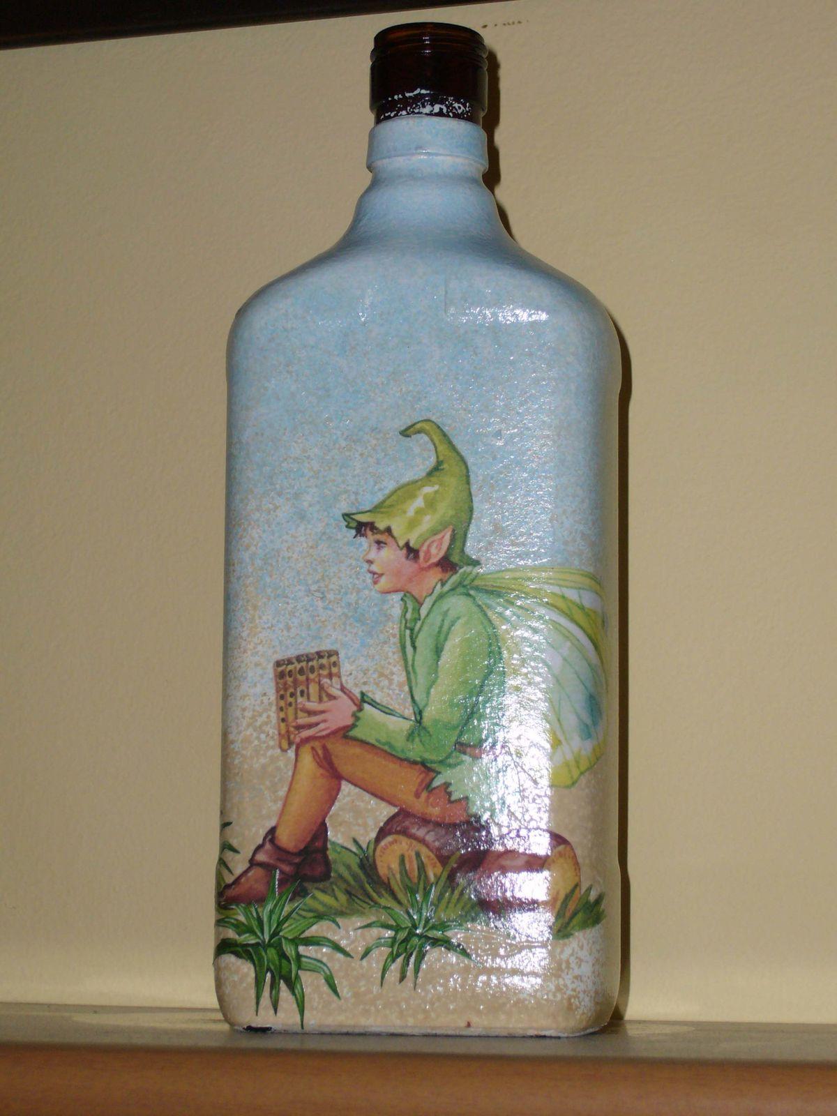 Gnomo su bottiglia