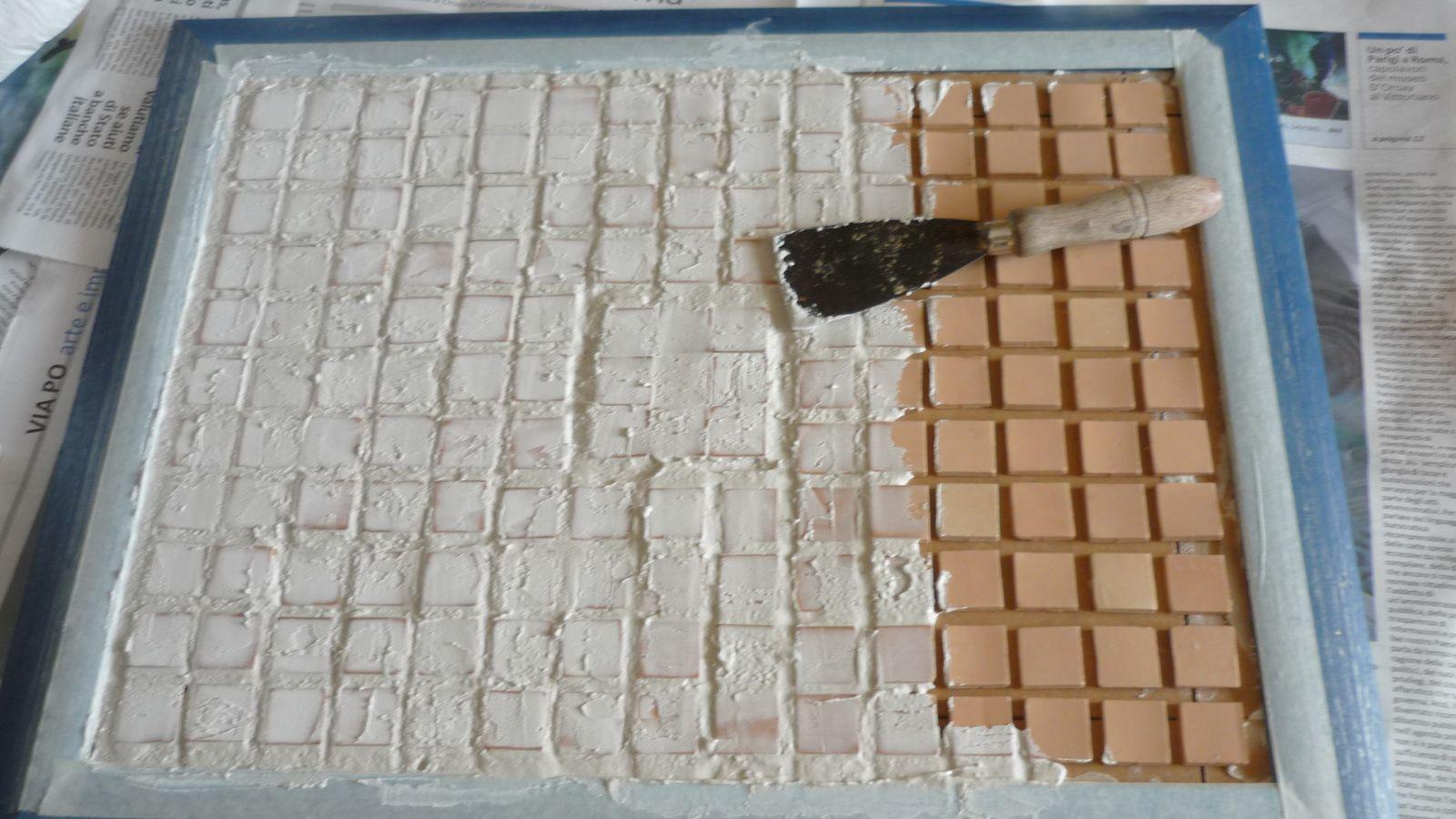 Vassoio Provenzale con tessere di argilla