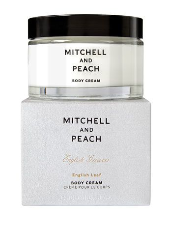 Mitchell and Peach English Leaf Body Cream