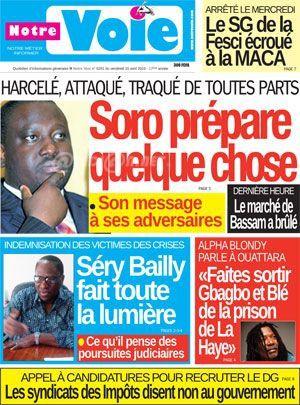 &quot&#x3B;N'allez plus soumettre vos problèmes à Guillaume Soro. Il n'est plus rien et il ne sera plus rien en Côte d'Ivoire.&quot&#x3B;