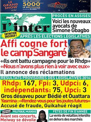 Courage president Affi N'guessan. Dieu vous fera Justice!