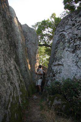 Beglik-Tach, sanctuaire mégalithique Thrace dans le parc naturel de Strandja