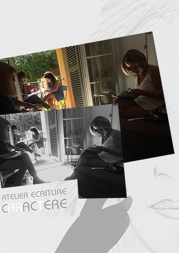 ATELIER ÉCRITURE NICE, 8 et 14 octobre