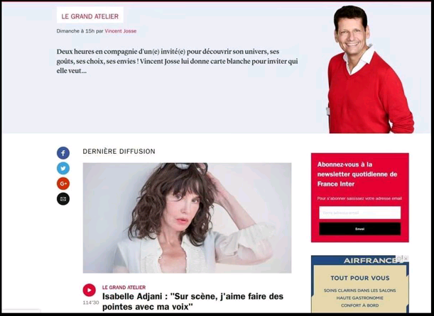 Isabelle Adjani et discours anti-vaccination - Analyse