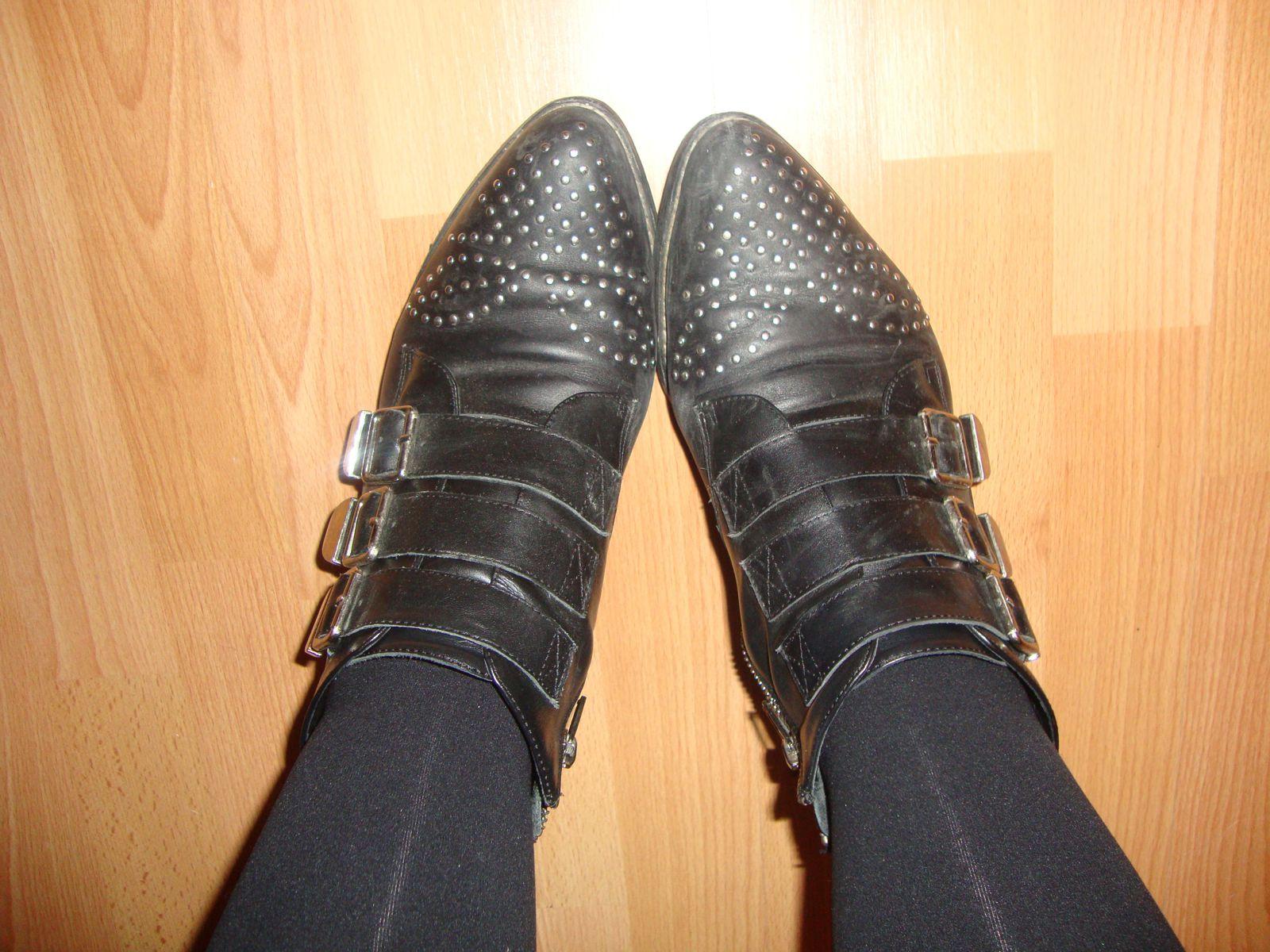 Le cas des mes boots Georgia Rose (de mer**)