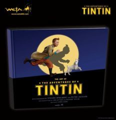 art of adventures of Tintin