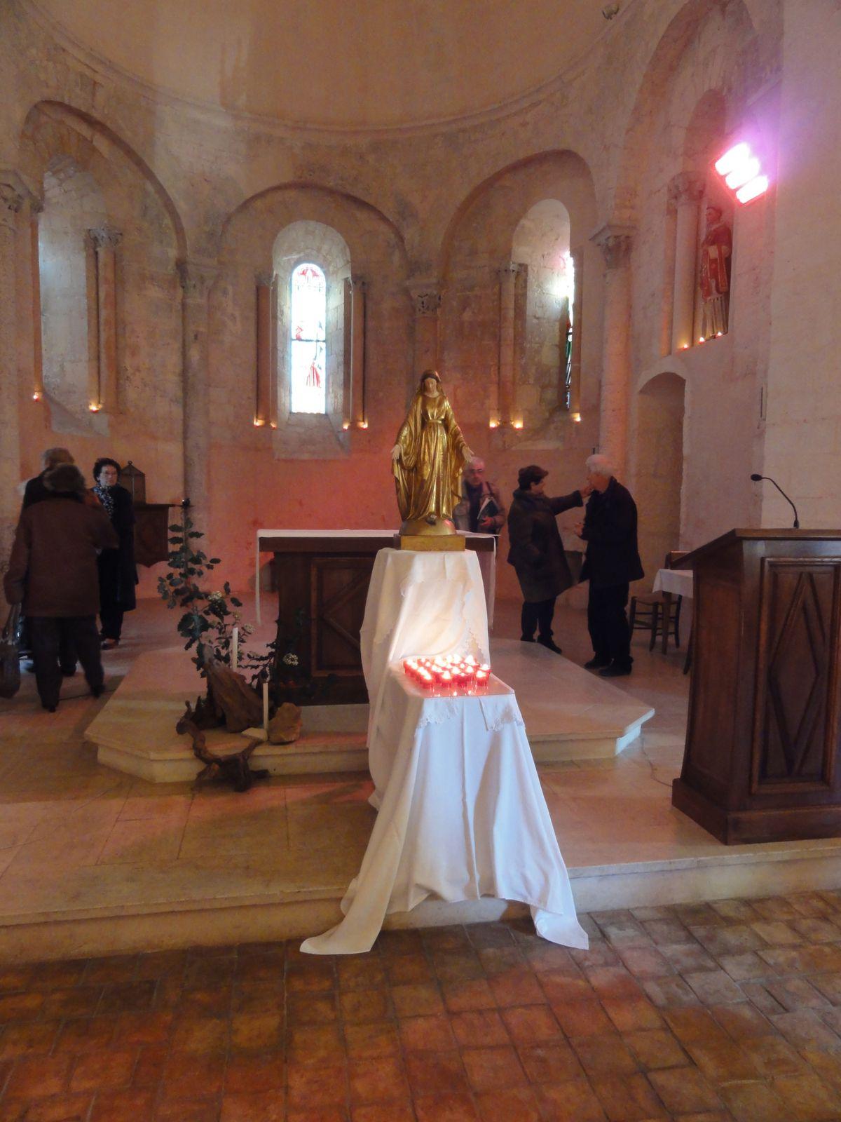 """Dimanche 8 décembre Vars, """"Marie, lumière sur nos chemins d'espérance et de sainteté"""""""