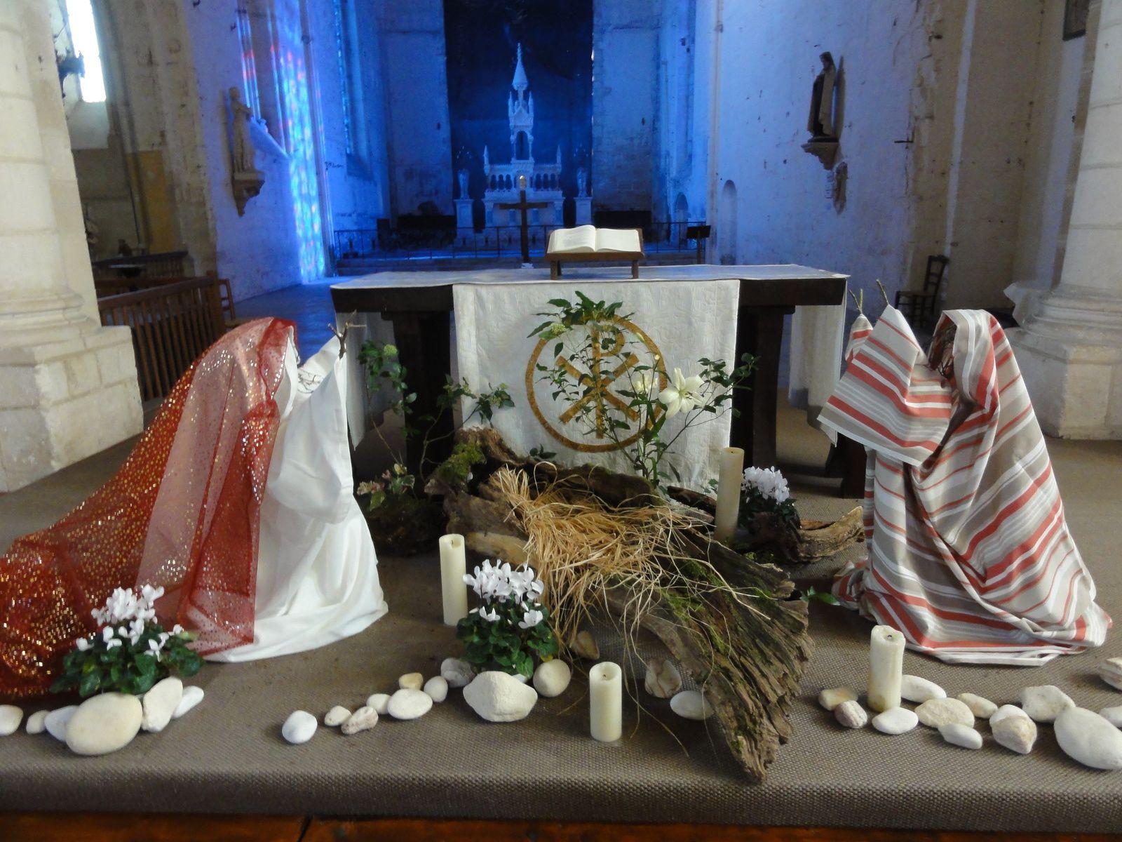 Le jardin liturgique de saint Amant de Boixe. 4ème dimanche de l'Avent.