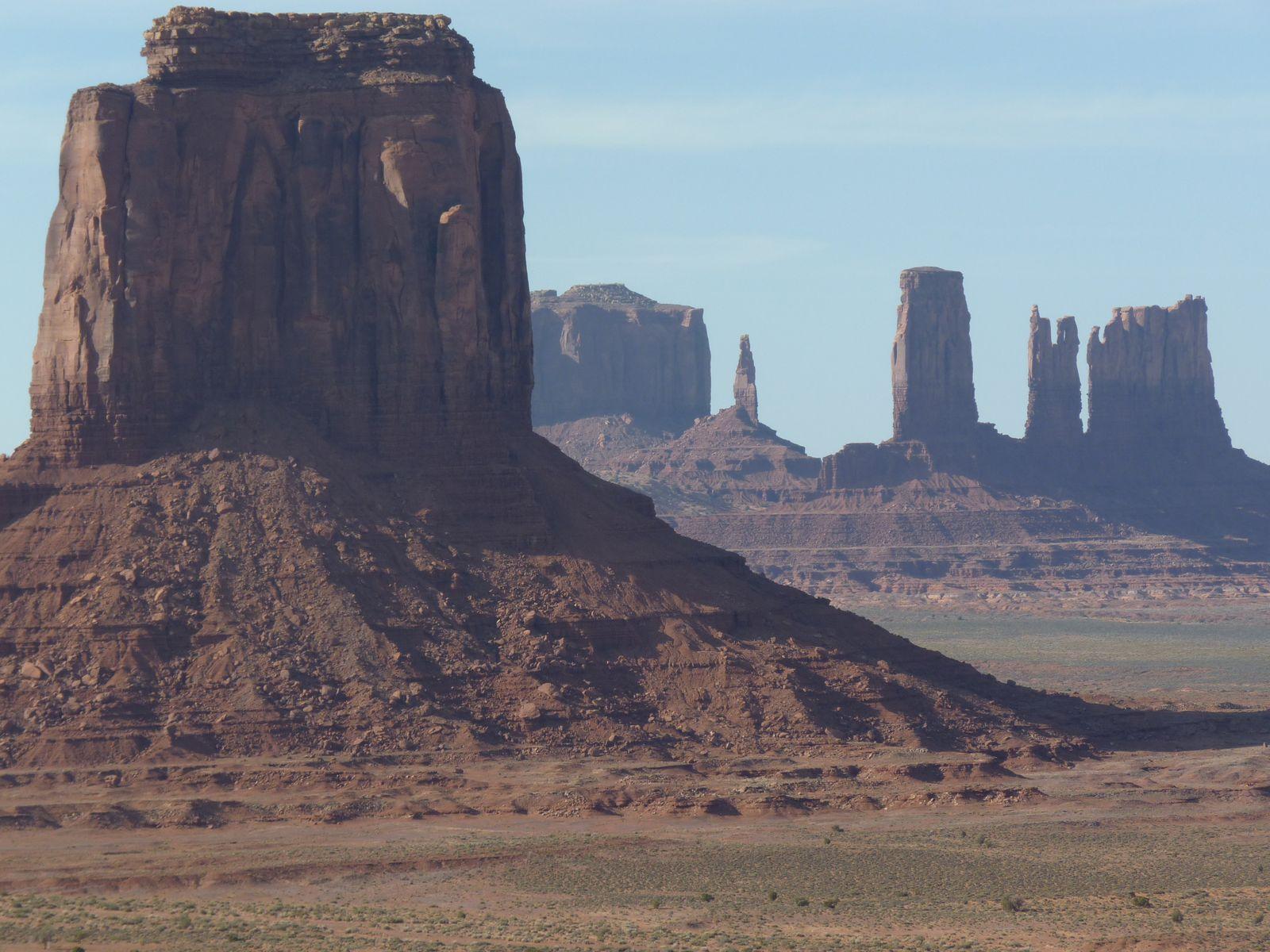 Monument Valley, l'un des plus beaux paysages d'Amérique.
