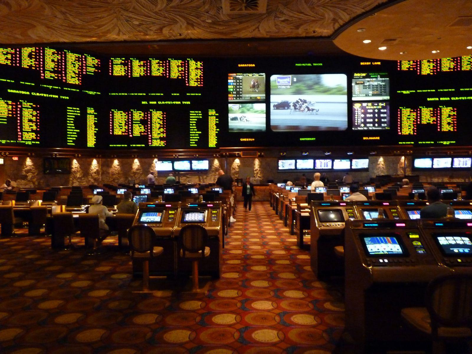 Encore une petite salle pour jouer aux courses.