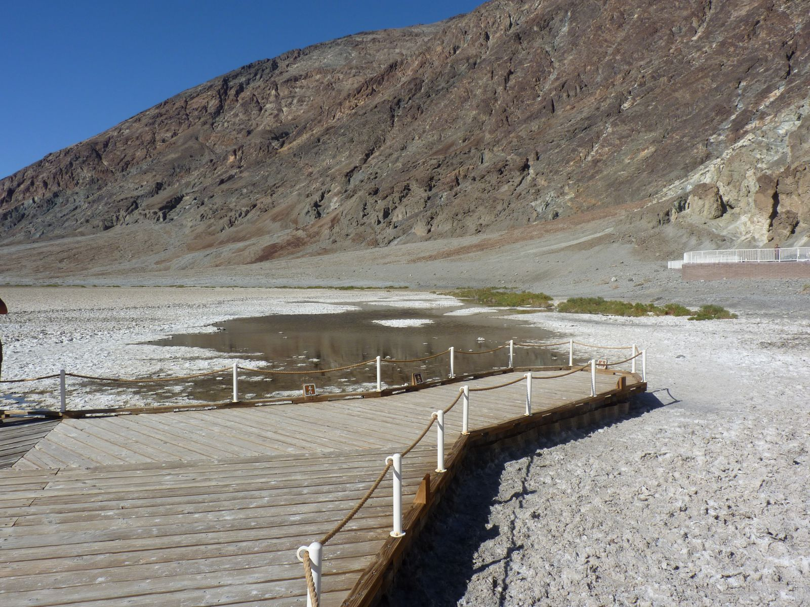Badwater Basin. Attention chaud chaud chaud !!!