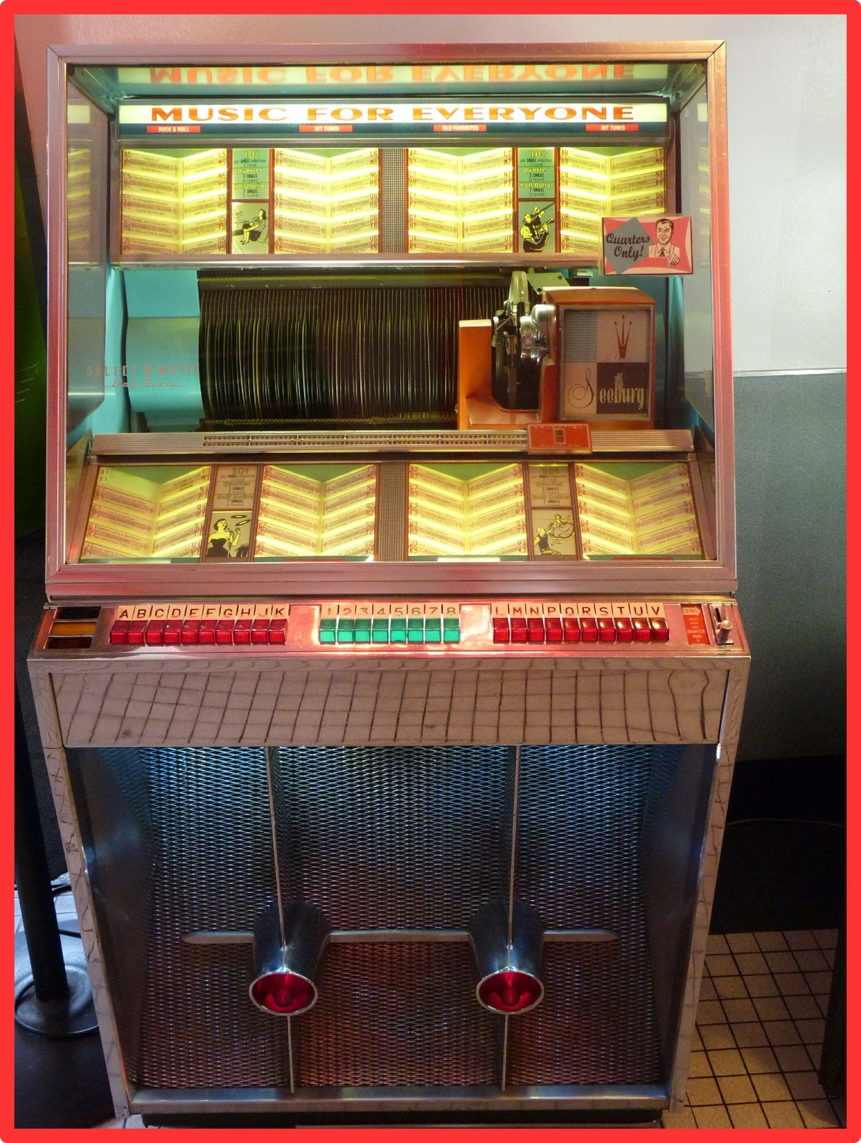 Juke box du 66 Diner Albuquerque NM