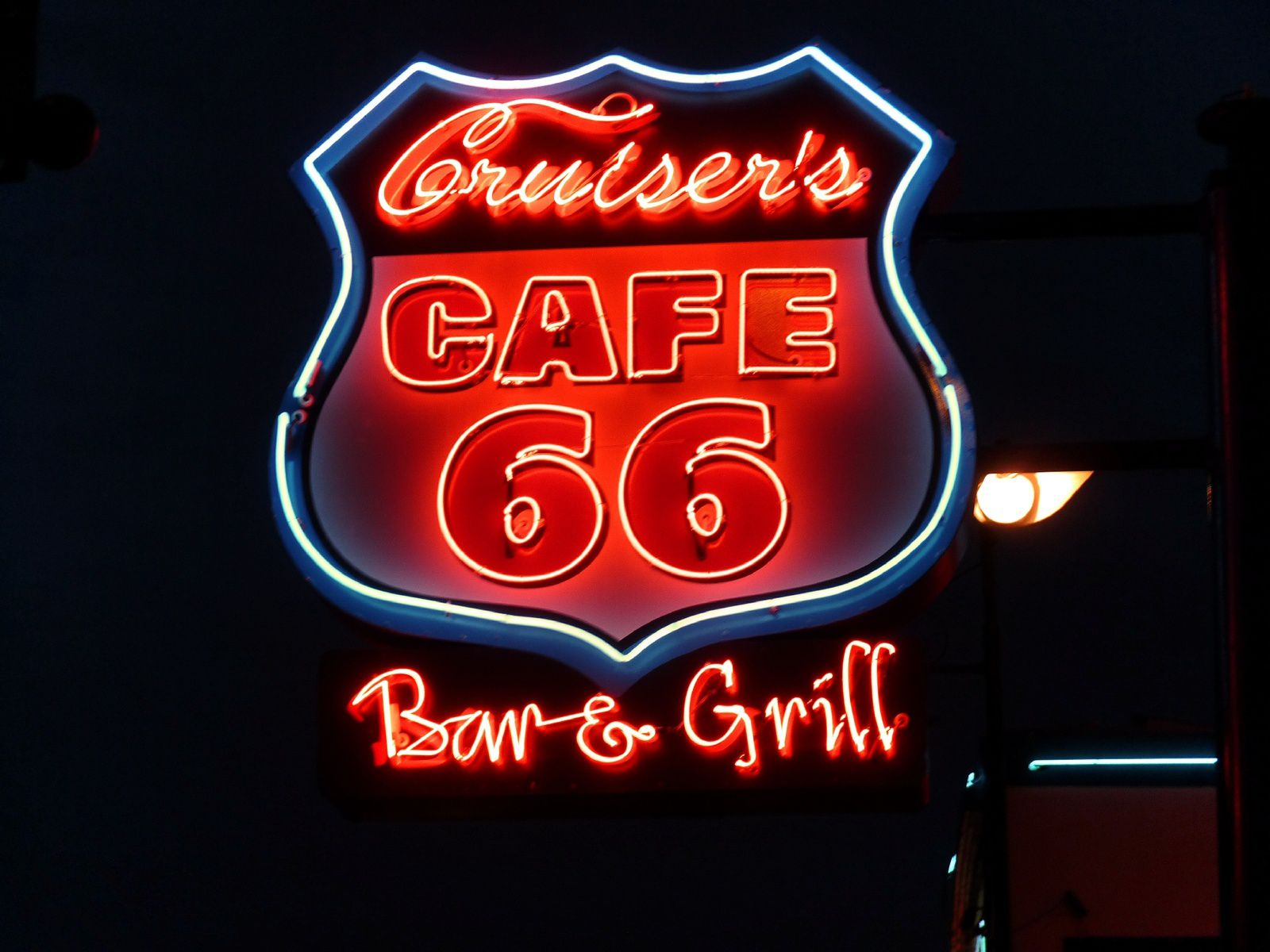 Le Cruiser's Cafe , Williams AZ