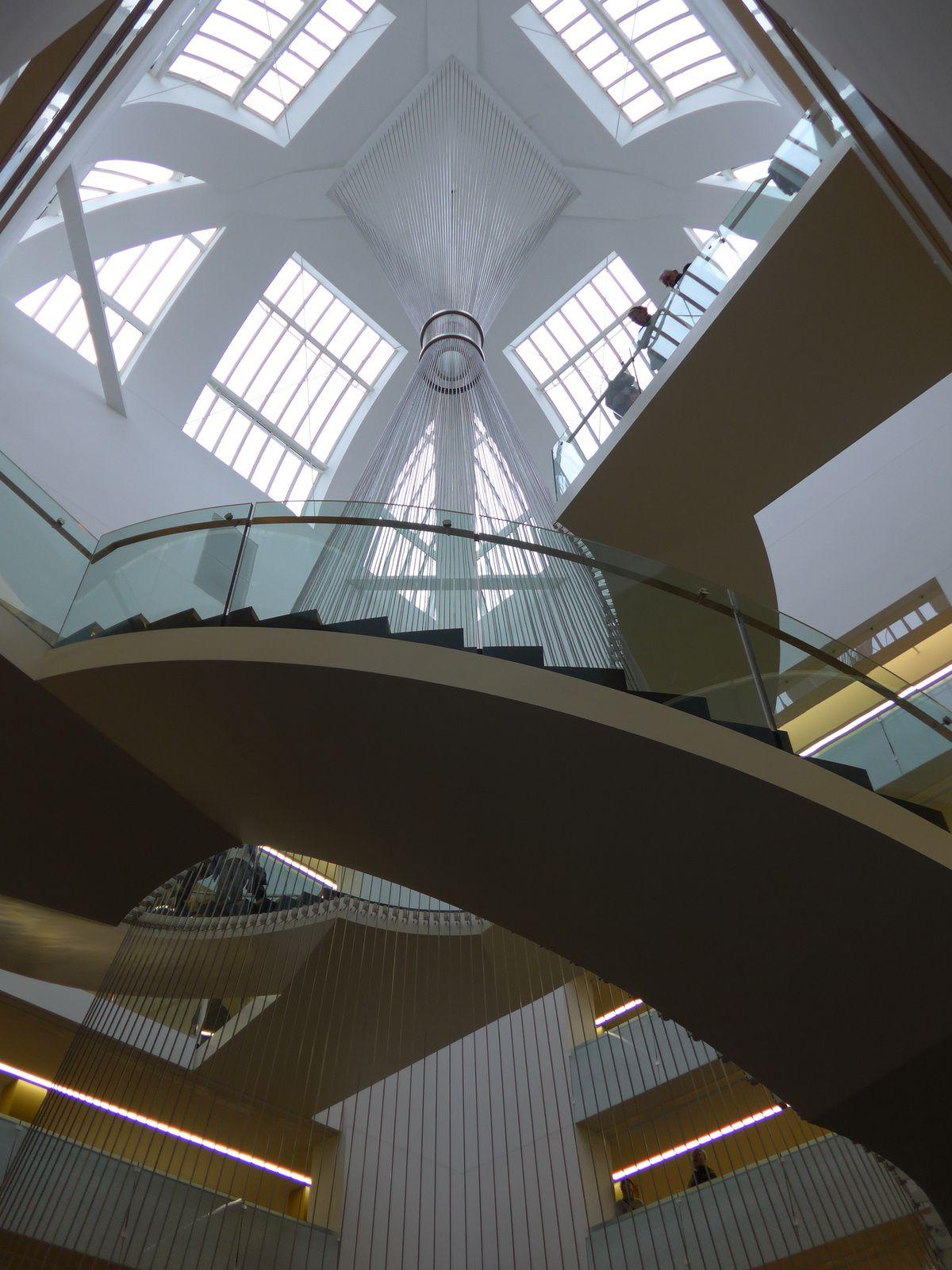 l'escalier et la coupole