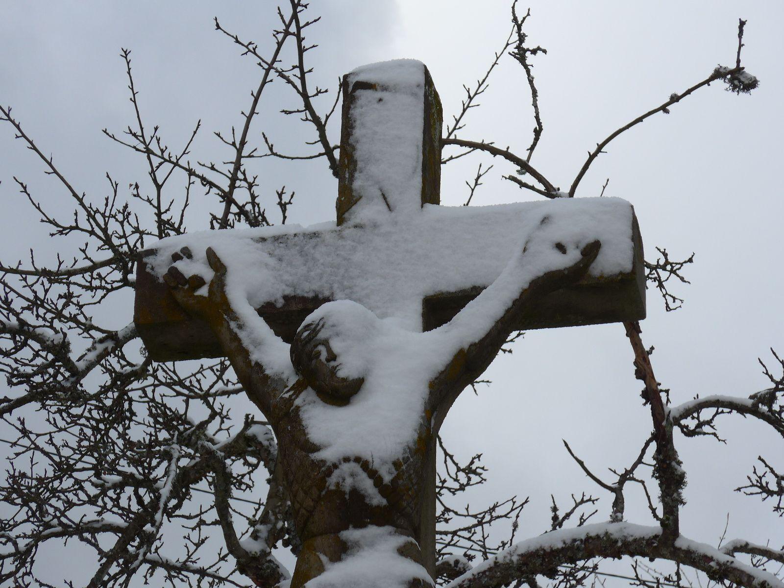 Nous ne verrons pas de croix sur les tombes Mennonites.