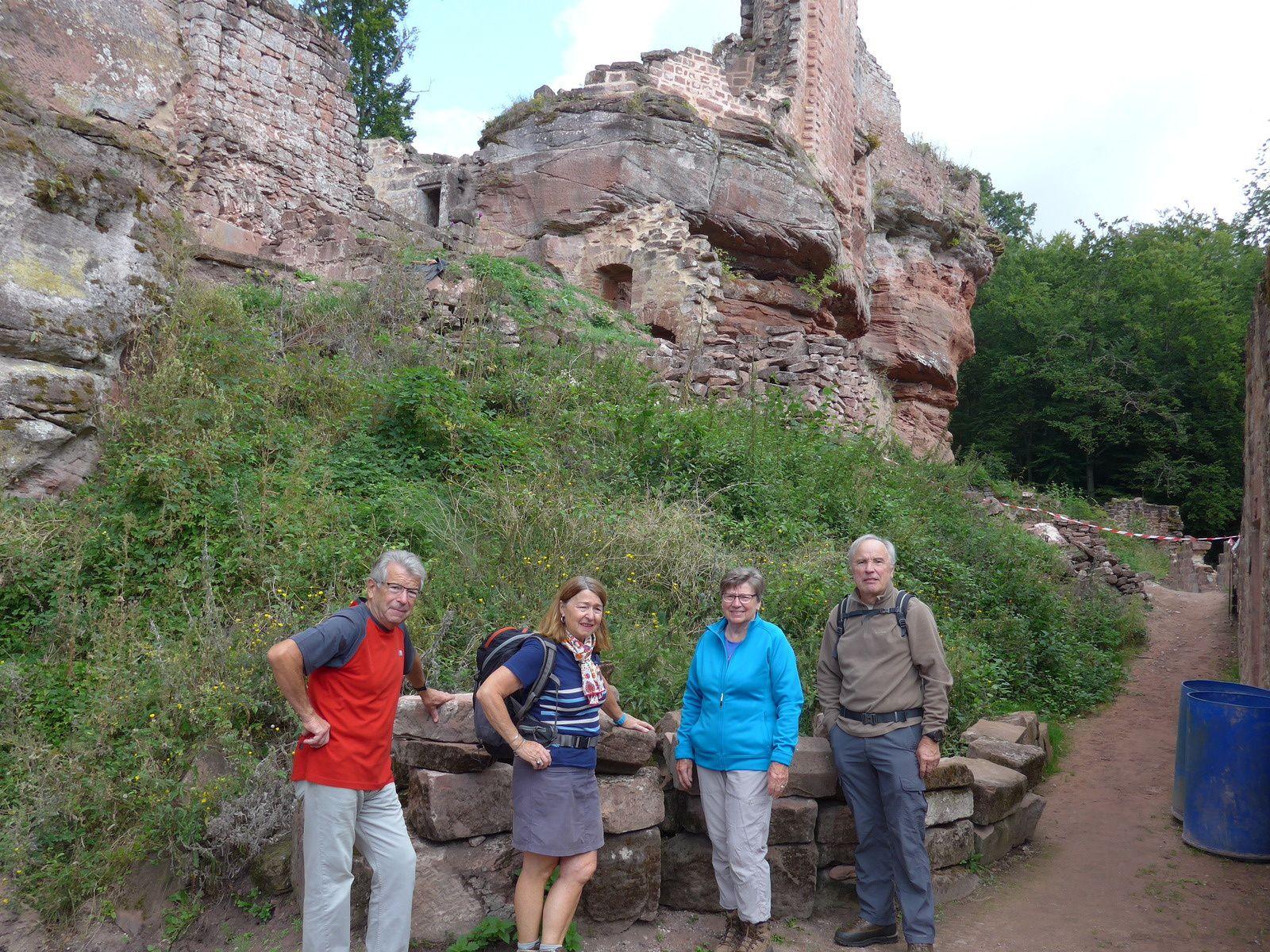 Ruines du Schoeneck, Wineck et Wittschloessel