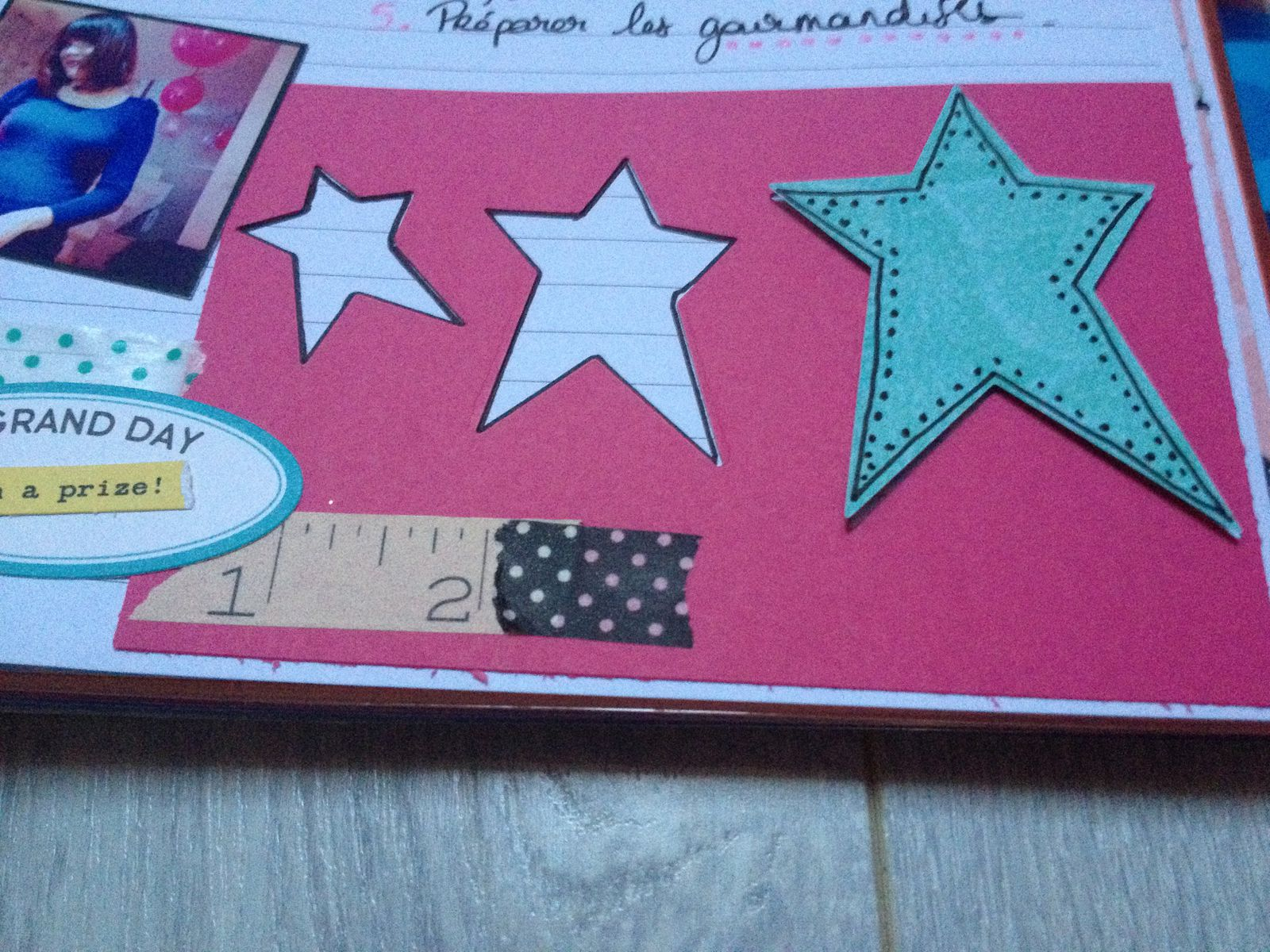 Project Life : les pages baby shower!!! Girly évidemment!!!!