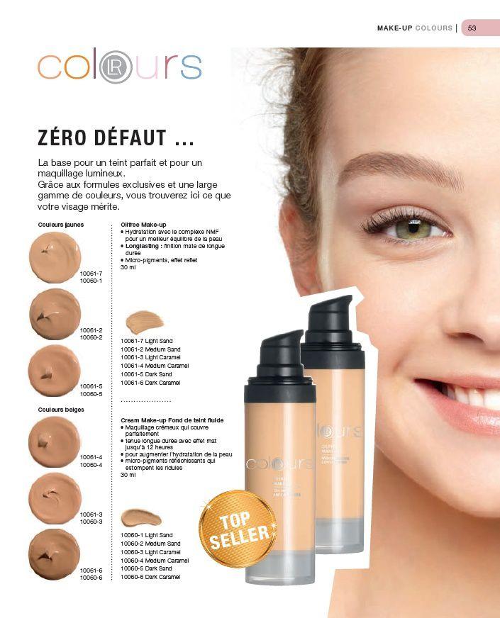 La gamme de maquillage Colours by LR - Aloé Véra, la santé au naturel