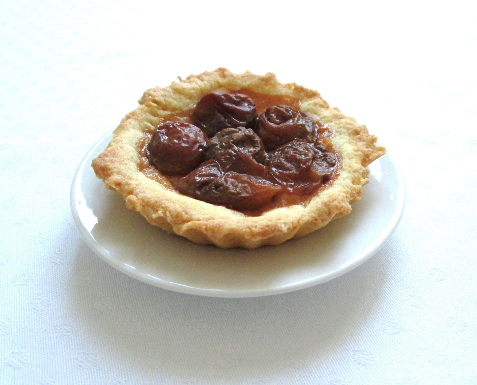 Tartelettes aux prunes