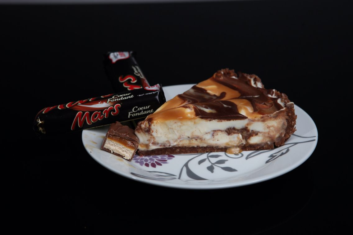 Cheesecake au mars