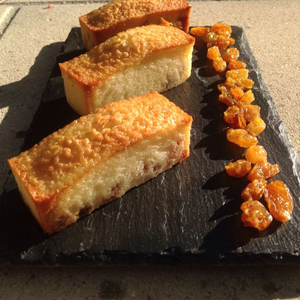 Financiers aux raisins golden