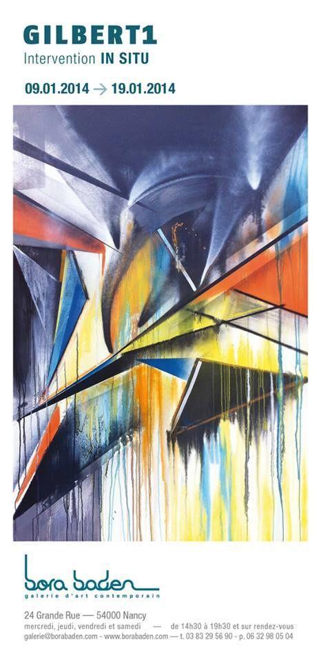 NANCY - GALERIE BORA BADEN - Installation de Gilbert1 - Du 9 au 19 janvier 2014