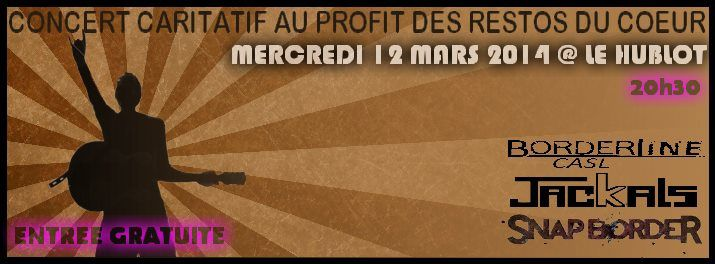 nancy le hublot concert au profit des restos du coeur mercredi 12 mars 2014 20h30 le. Black Bedroom Furniture Sets. Home Design Ideas